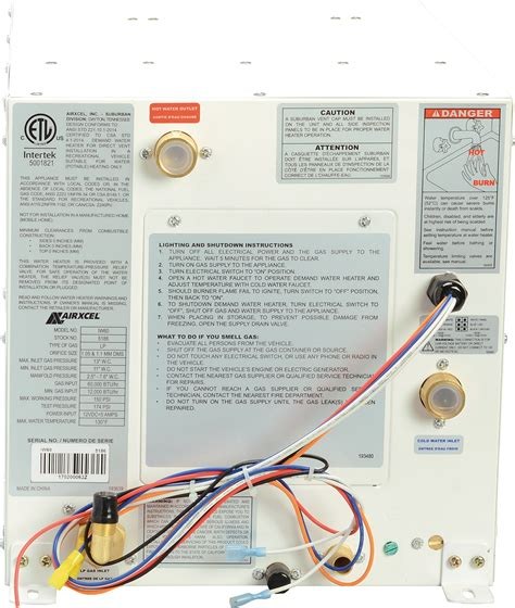 wiring diagram for ruud water heater k