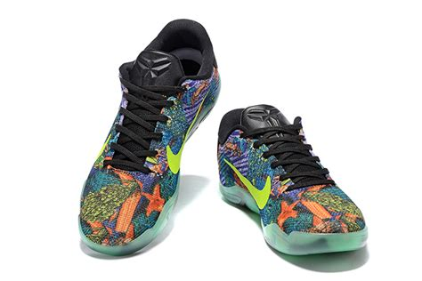 colorful nike basketball shoes glow in the nike 11 master colorful mens