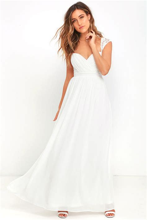 Novela Dress white dress maxi dress lace gown 78 00