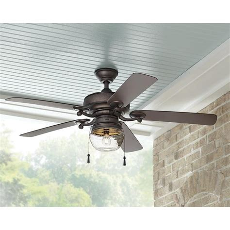 indoor outdoor ceiling fans home decorators collection bromley 52 in led indoor