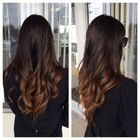 best ombre hair color for brunettes ombre for brunettes it s a girl thang pinterest
