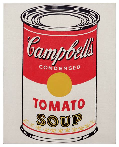 andy warhol soup cans andy warhol 1928 1987 cbell s soup can tomato