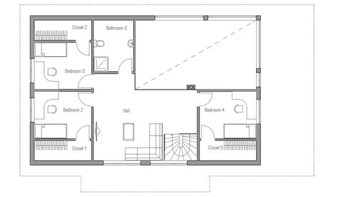 small house ch35 2f 189m 5b modern house plan house plan