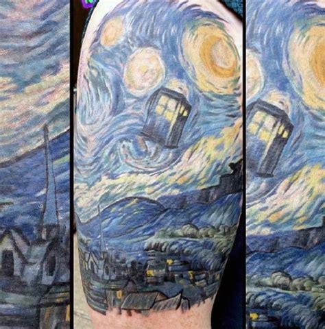 vincent van gogh tattoo 45 vincent gogh tattoos nenuno creative