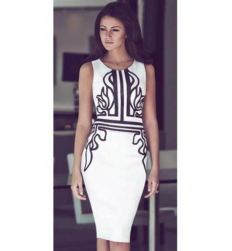 Rucika Knee Polos Pvc 1 12 D L Bengkokan D Dl Tanpa Drat fashion white unique print knee length dress n10115