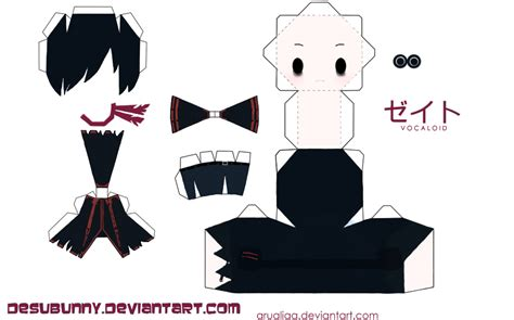 Chibi Papercraft - papercraft favourites by hotaru213 on deviantart