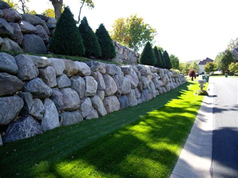 Rock Garden Wall Rockwalls Bulkheads Walls Rock Walls Retaining Wall Port Ludlow Bainbridge Island