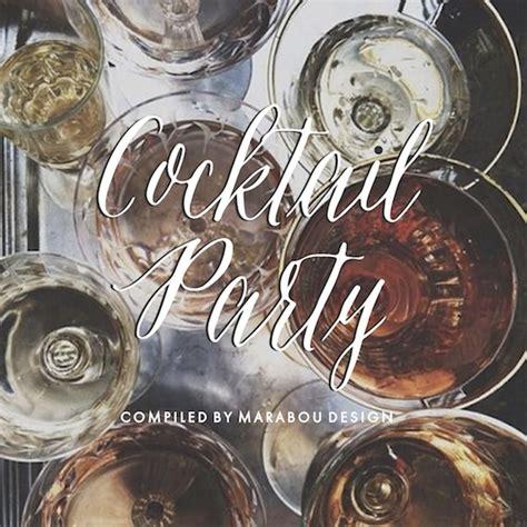 cocktail playlist maraboudesign partyplaylist cover julep