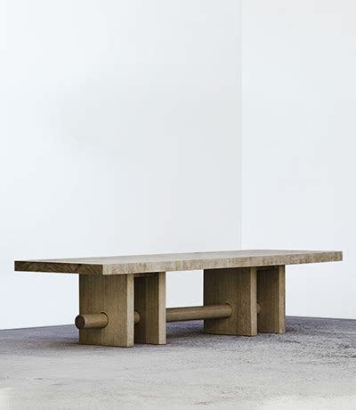 ralph pucci international, furniture, dining tables