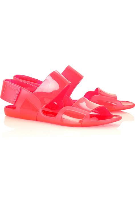 Sandal Jelly Zurarah Sandal Slop Flat Jelly Shoes Sepatu Sandal marni flat jelly sandals in pink lyst
