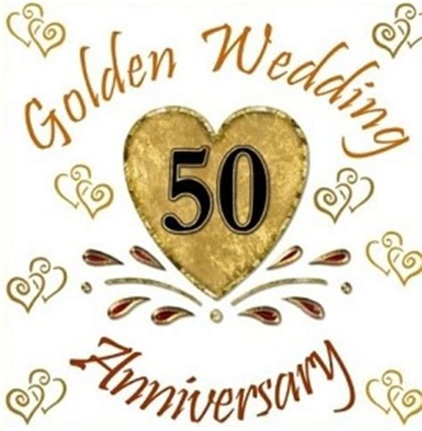 Congratulations To 50th Wedding Anniversary