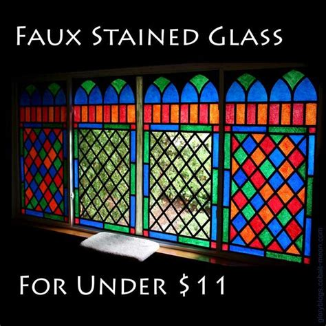 How To Make A Paper Stained Glass Window - how to make stained glass windows with tissue paper