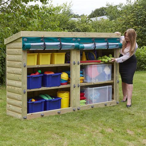 backyard storage units buy outdoor wooden storage units tts