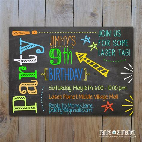 trendy blue neon chalkboard birthday 25 best ideas about birthday invitations on spa invitations spa