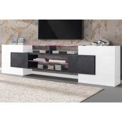 meuble tv design led bello cbc meubles
