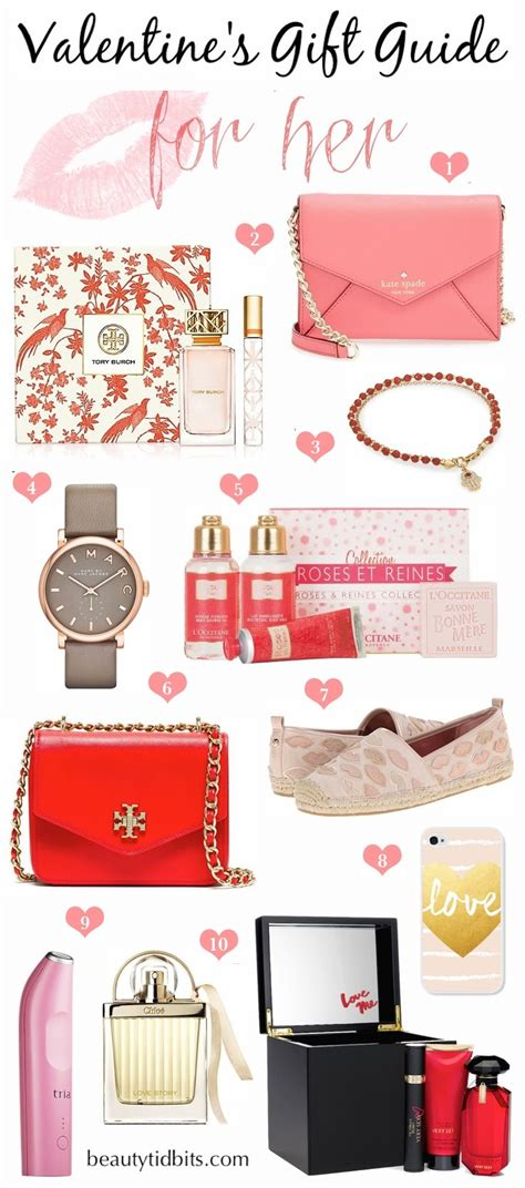 Valentines Day Ideas For Her | valentine s day gift ideas for her beautytidbits