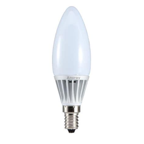 Anyray 5 Watt Led E17 Intermediate Base Candle Light 40 E17 Intermediate Base Led Light Bulbs