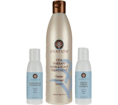 ovation cell therapy ovation hair care ovation cell therapy treatment with travel shoo