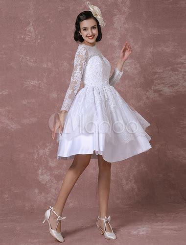 kurzes hochzeitskleid vintage kurzes hochzeitskleid vintage brautkleid spitze applique