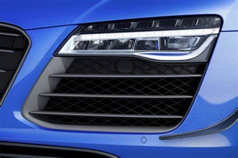 audi r8 headlights audi r8 lmx lights up at le mans mega gallery and video