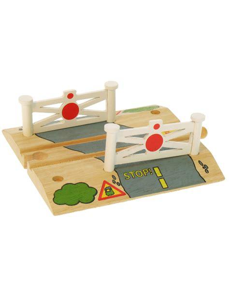 brio compatible train sets bigjigs railtrack level crossing train set wooden toy toys