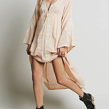 Wst 18768 Embroidered Bell Sleeve best pink bell sleeve dress products on wanelo