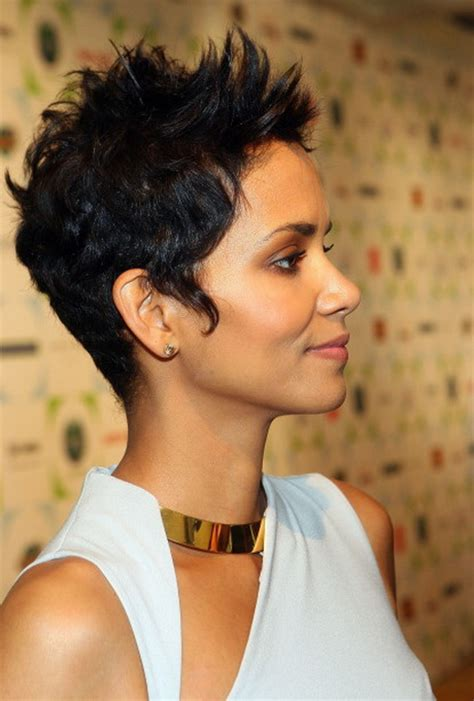 black ladies with short with spikes short spikey hairstyles for women