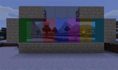 colored glass minecraft v2 1 extended glass colored glass and more minecraft mod