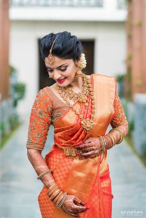 on pinterest saree blouse south indian bride and bridal sarees tamil wedding saree www pixshark com images galleries