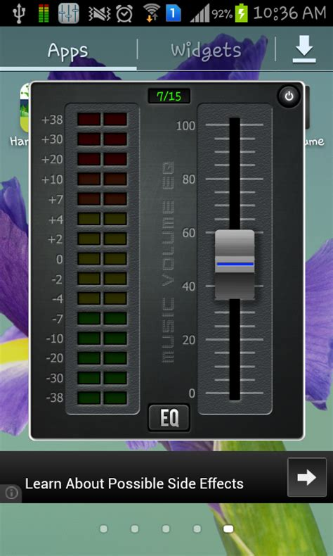 free equalizer app for android free volume equalizer app for android to create custom presets