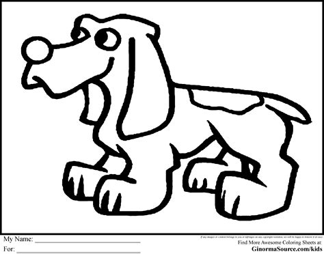 coloring page bloodhound dog coloring pages pinterest