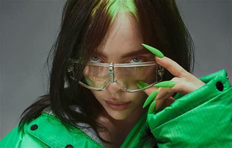 wallpaper glasses nails celebrity singer billie eilish billy iles images  desktop