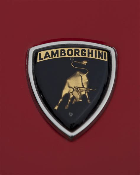 1968 lamborghini emblem 2 photograph by reger