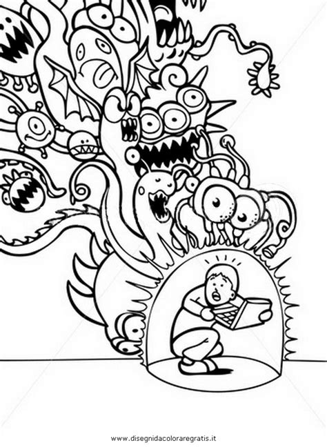 coloring pages vires cartoni virus attack virus attack 6 jpg