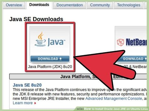 how to download and install oracle java in ubuntu with how to install oracle java jre on ubuntu linux with pictures
