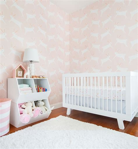 pink wallpaper target a pink bunny nursery with target emily henderson bunny