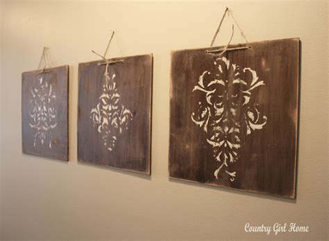 country girl home how to make old wood decor