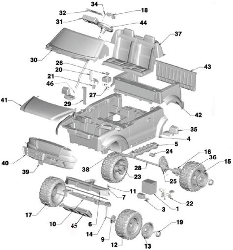 ford f150 parts diagram power wheels ford f150 raptor parts