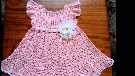vestido nia crochet faciles vestidos a crochet para ni 241 as youtube