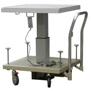 Electric Table Electric Lift Table 120vac 50 60 Hz Radiation Products