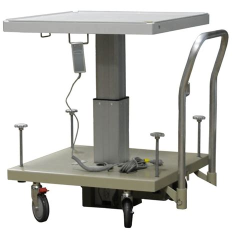 Electric Tables Electric Lift Table 120vac 50 60 Hz Radiation Products