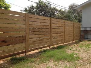 Fencing A Backyard Tips Installing Horizontal Privacy Fence Backyard Fence