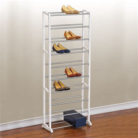 storage shoe rack shoe rack closet storage kmart