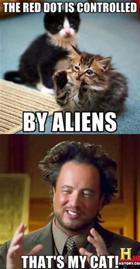 Make A Meme Aliens - that s my cat ancient aliens know your meme