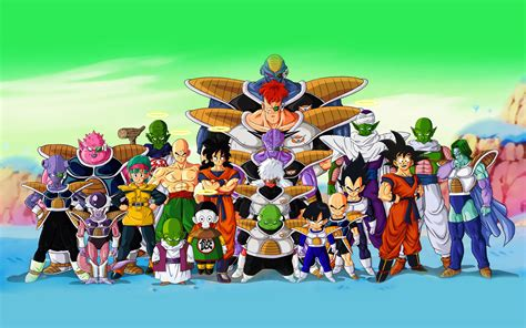 dragon ball characters wallpaper dragon ball z wallpaper all characters in high