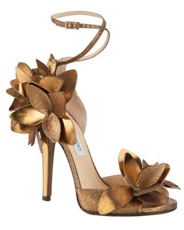 Manolo Blahnik Glossy Heels Rc1518 66 metallic copper shoes for a wedding dress metallic wedding copper