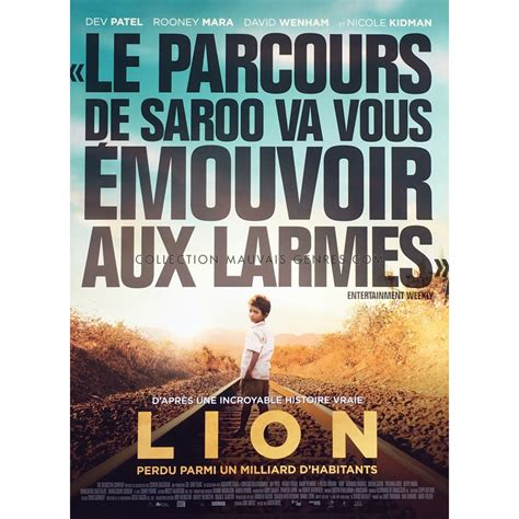 film avec lion affiche de lion oscars style c