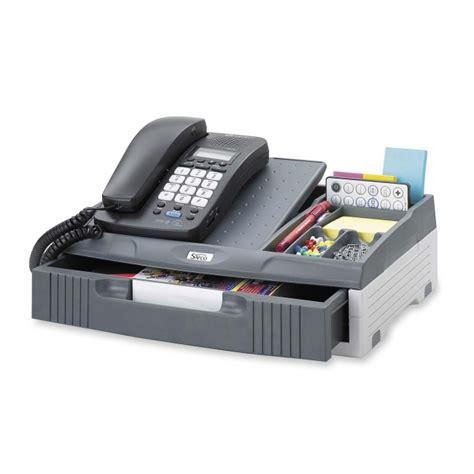 Office Desk Phone Stand Printer