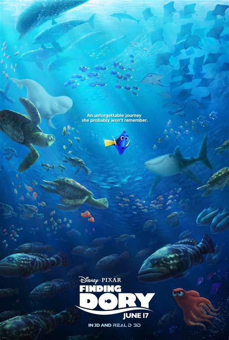 Kaos Finding Dory Disney Original Xl quot finding dory quot poster released