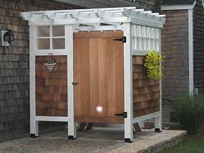 planning ideas how to build diy outdoor shower plans